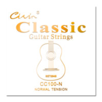Струны классической гитары Civin CC100 H Classical Clear Nylon High Tension (Germany Imported)